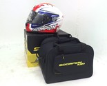 New Scorpion EXO T-1200 Sight Full Face Motorcycle Helmet 2XL Red White & Blue