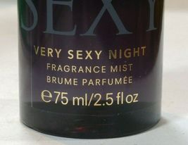 VICTORIA'S SECRET VERY SEXY NIGHT TRAVEL FRAGRANCE BODY MIST 2.5 oz / 75 ml  image 3