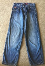 Southpole Young Men's Denim Jeans Boys 14 Loose Baggy Straight Leg 28x27 28 - $5.99
