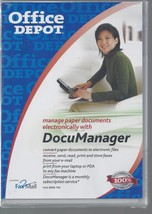 Office Depot DocuManager Manage Paper Documents Electronically NIP Brand... - $19.79