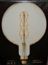 "GE Vintage 40-Watt Amber Dimmable Edison Light Bulb LARGE 11"" TALL 8.5"" Diameter - $35.63"