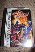 Night Warriors: Darkstalkers' Revenge (Sega Saturn, 1996) CD ONLY+CLEAN ... - $32.90