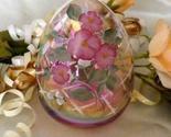 3802 Fenton Hummingbird on Pink Iridescent Glass