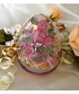 3802 Fenton Hummingbird on Pink Iridescent Glass - $135.00