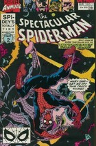 The Spectacular Spider-Man Annual #10 FN 1990 Marvel Comic Book - $1.26