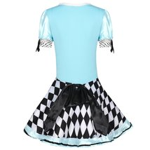 Sweet Blue Lolita Costume Alice In Wonderland Cosplay image 5