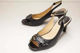 Cole Haan 8 Black Slingback Sandals - $48.00