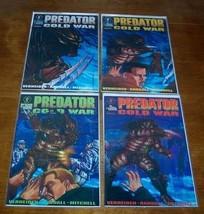 PREDATOR COLD WAR COMIC BOOK LOT RUN 1-4 - $19.80