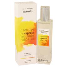 Philosophy Expressive by Philosophy Eau De Parfum Spray 1 oz - $26.85