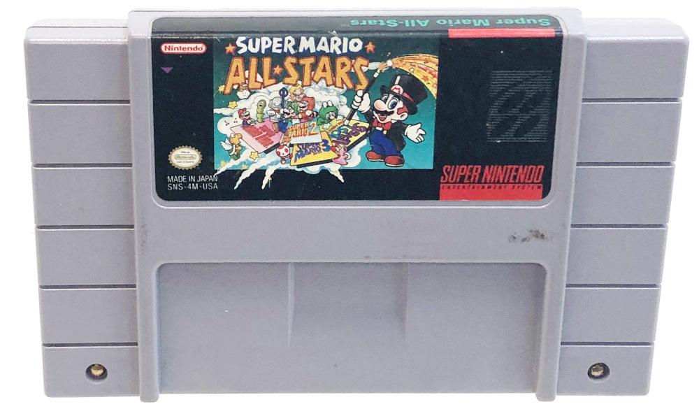 Nintendo Game Super mario all stars