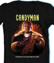 Candyman T Shirt retro Clive Barker slasher film horror movie graphic tee shirt  image 2