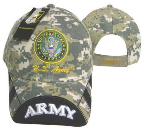 United States Army OFFICIALLY LICENSED Embroidered With Seal Baseball Cap Hat