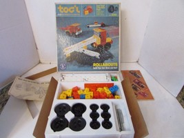 VTG MATTEL 4608 TOG'L ROLLABOUTS BUILDING TOY CREATIVE PLAY 1968 - $14.69