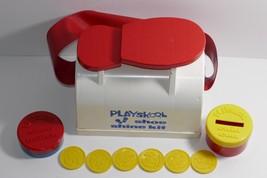 Playskool 1975 Shoe Shine Kit RARE - $27.71