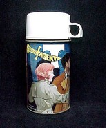 Secret Agent Metal Lunch Box Thermos LunchBox Vintage Collectible  - $14.95