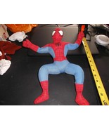 "AMAZING SPIDER-MAN 14"" PLUSH TOY ~ ULTIMATE SPIDER-MAN PUSH!! - $10.00"