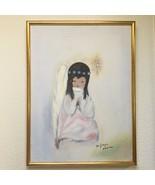 """DeGrazia (1904-1982) Arizona A Little Prayer Framed 25""""x18"""" Hand Signed ... - $247.50"""