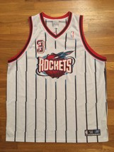 Authentic 2003 Reebok Houston Rockets Steve Francis Home White Jersey 56 - $309.99