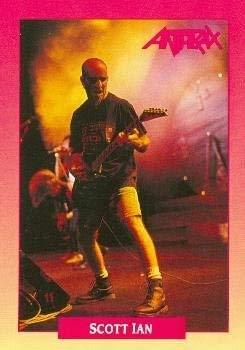 Primary image for Scott Ian trading Card (Anthrax) 1991 Brockum Rockcards #201