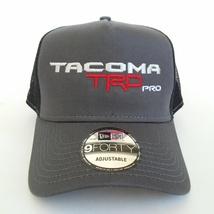 New Era 9forty TOYOTA TACOMA TRD PRO GRAY BLACK TRUCKER HAT CAP SNAPBACK - $23.99