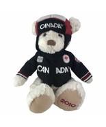 """2010 Olympic Games Canada Hockey Team Plush Teddy Bear Toy Hudson's Bay 17"""" - $27.69"""