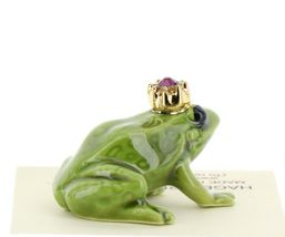 Birthstone Frog Prince February Simulated Amethyst Miniatures by Hagen-Renaker image 4