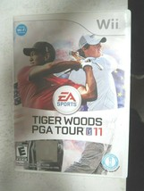 Tiger Woods PGA Tour 11 (Nintendo Wii, 2010) - $5.00