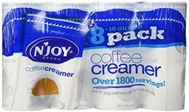 N'JOY Coffee Creamer - 8/16oz Canisters - $29.92