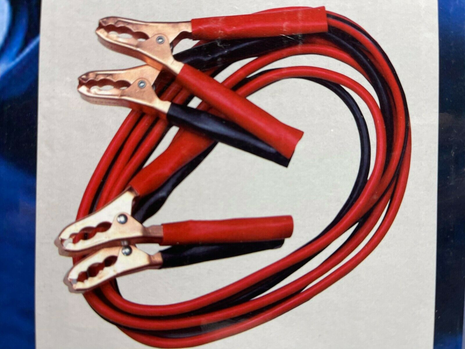 Booster Cables 10 Gauge 12 Feet By Helping Hand - New In Box