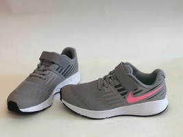 NIKE STAR RUNNER SNEAKERS GREY Pink Sunset Pulse NIB - sizes vary - $35.99