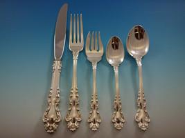 Spanish Baroque Reed & Barton Sterling Silver Flatware Set Service 64 PC Dinner - $7,650.00