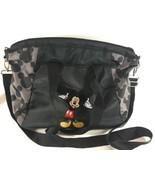 Disney Diaper Bag Mickey Mouse Baby Bottle Holder Nylon Large  - $28.87