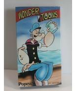 VHS Tape Popeye Wonder Tunes Sealed Cartoon Vintage - $10.79