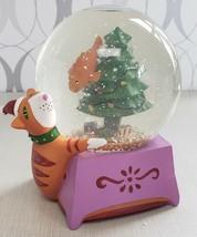 Neiman Marcus Dept 56 Christmas Cat Fish Music Snow Globe Catfish 1994 W... - $29.70