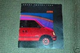 1985 Chevrolet  Astro Brochure - $2.00