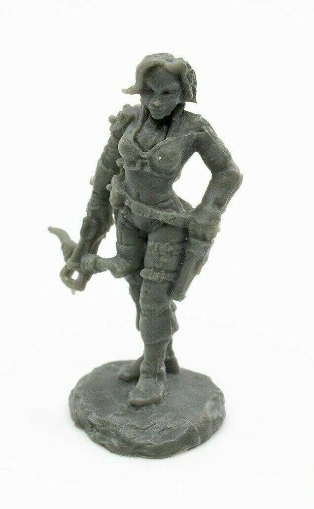 Tara The Silent Reaper Miniatures Bones Black Rogue Assassin Ranged Melee RPG - $2.96