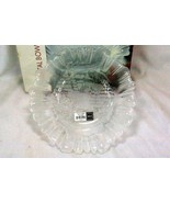 "Mikasa Holiday Classics Winter Reindeer Scene Crystal 10"" Bowl - $11.96"