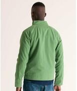 Superdry Mens Size XXL Commodity Harrington Jacket Tea Green Cotton Chin... - $89.09
