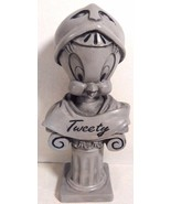 "TWEETY BIRD BUST FIGURINE GRAY 6"" TALL WARNER BRO'S. - $9.95"