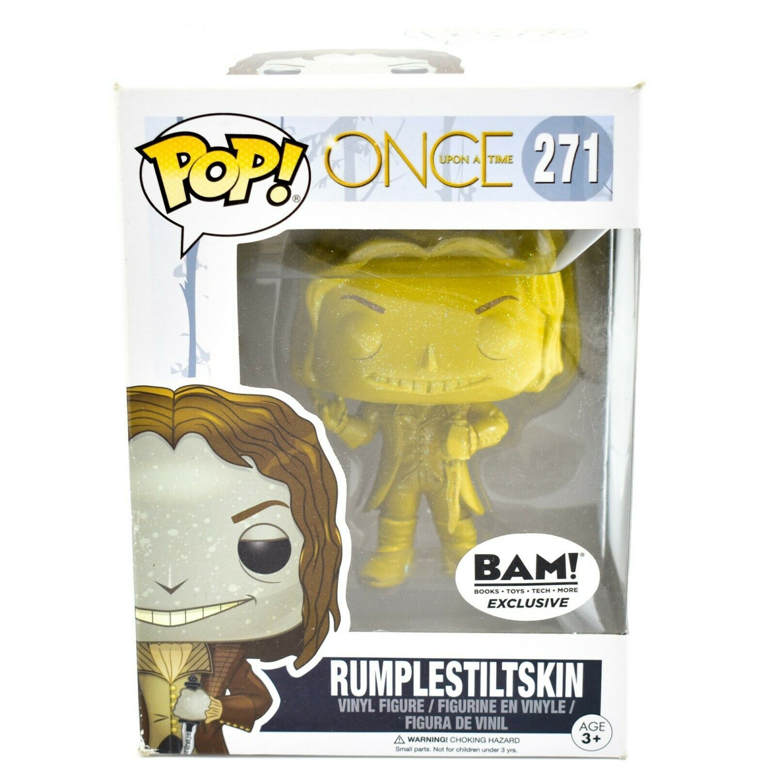 Funko Pop Once Upon a Time BAM! Exclusive Vinyl Figure Rumplestiltskin #271 4RS