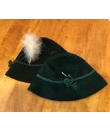 (2) Bavarian Oktoberfest Alpine Hats Including Stephanie Mayers  - $14.25