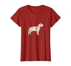 Dog Fashion - Vintage Floral Pitbull Shirt Dog Lover Dog Owner Gift Wowen - $19.95+