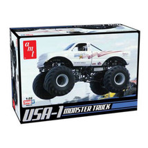 AMT #672 - 1/32 Model Car kit - Snap-It 1988 Chevy USA-1 Monster Truck - $17.33
