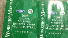 2008 FORD ESCAPE & ESCAPE HYBRID Service Shop Repair Workshop Manual Set... - $138.59
