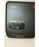 Sony D-34 Discman CD Player ONLY no headphones or power cord For Parts R... - $24.95