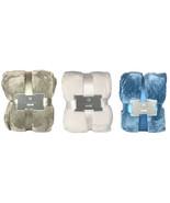 NEW Monte & Jardin Warm Super Soft Plush Jacquard Velvet Blanket in King... - $59.99+