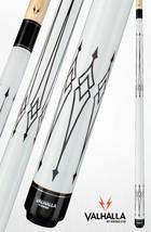 White VA221 Pro Taper Valhalla Viking Cue Billiard Pool Stick Lifetime Warranty - $87.99+