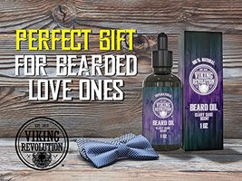 Beard Oil Conditioner - All Natural Clary Sage Scent with Organic Argan & Jojoba image 4