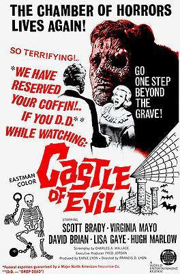 Primary image for Castle of Evil - 1966 - Movie Poster