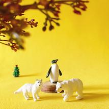 fovol polar bear/polar wolf/fairy garden/terrarium/ vintage - $13.95